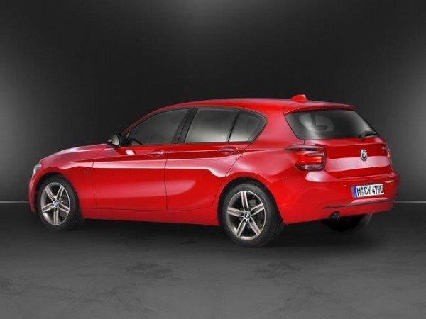 BMW 1 Series - вид сбоку