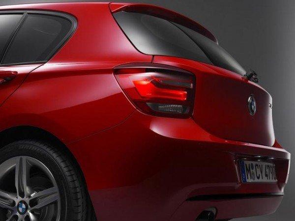 Задняя часть BMW 1 Series