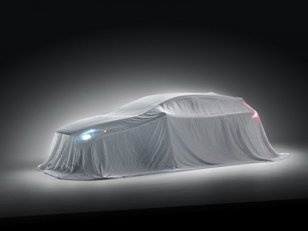 Первое изображение нового Volvo V40
