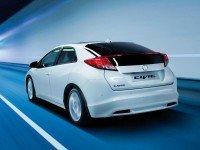 Хонда Цивик Type R - тип позади