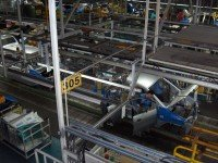 Сборочная линия на заводе Hyundai Motor