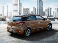 2015 Hyundai i20 - вид сзади