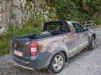 Dacia Duster Pick-up - вид сзади. Фото - DaciaOltcitAro (через facebook.com)