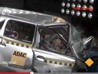 Краш-тест Datsun Go. Скриншот видеоролика YouTube