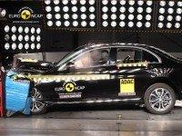 Фронтальный краш-тест Mercedes-Benz C-Class