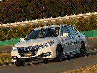 Тест «беспилотного» автомобиля Honda. Фото slashgear.com