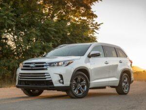 Toyota Highlander. Фото Toyota