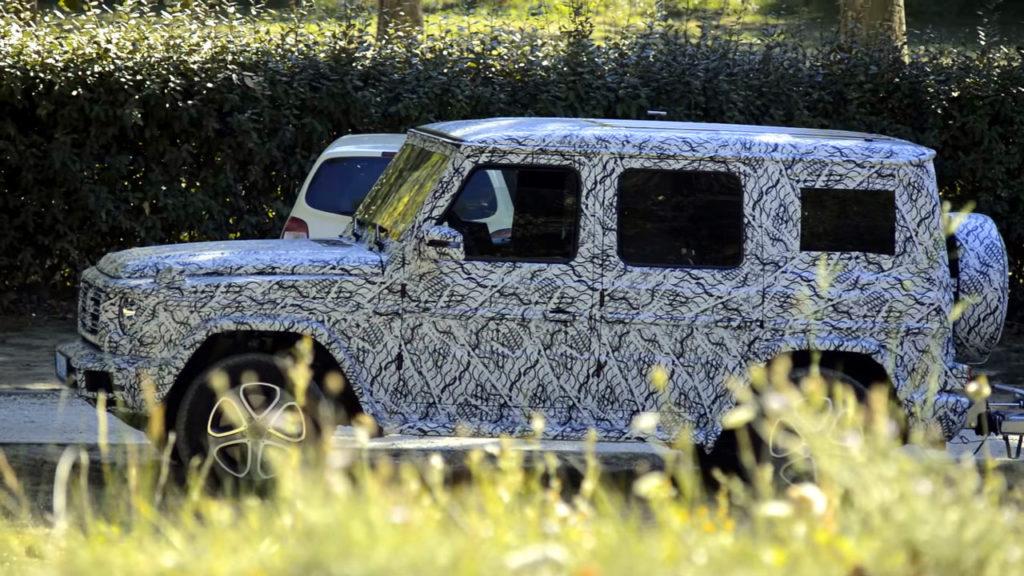 Прототип нового Mercedes-Benz G-класса