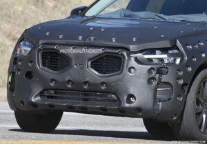 Прототип Volvo XC60 нового поколения