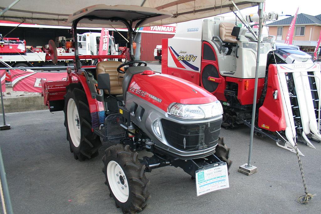 Янмар минитрактор – японский трактор Yanmar Diesel