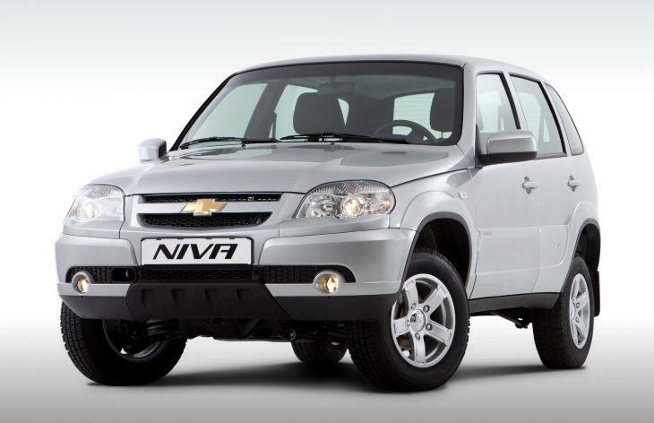 Chevrolet Niva. Фото Chevrolet