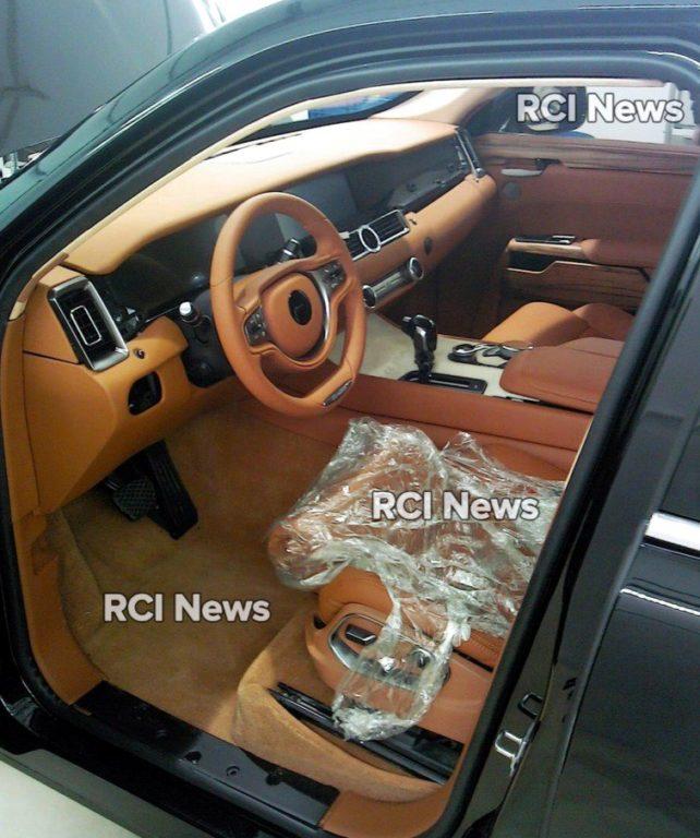 Производитель лимузина «Кортеж» прокомментировал фото интерьера салона