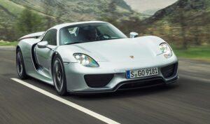 Porsche 918 Spyder. Фото Porsche