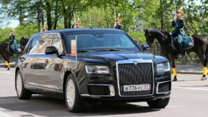 Aurus Senat проекта«Кортеж». Фото kremlin.ru