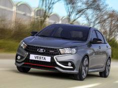 LADA Vesta Sport будет стоить дороже 1 млн рублей