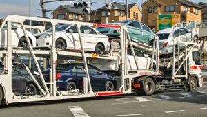 Импорт автомобилей. Фото Tennen Gas