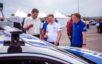 Беспилотный автомобиль на Крымском мосту. Фото Минтранс РФ
