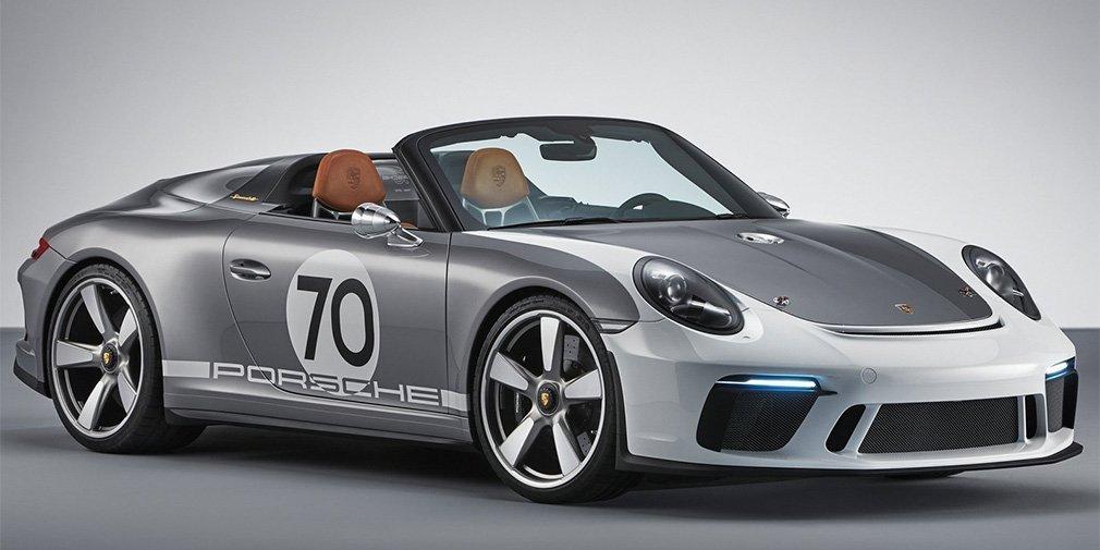 Porsche 911 Speedster: уникальный подарок к юбилею