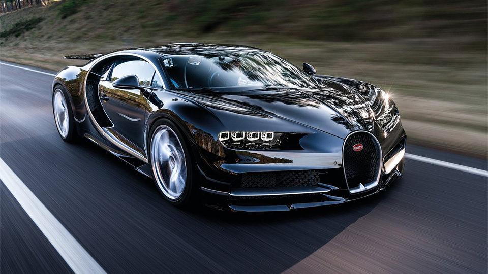 5 место 420 км  час- Bugatti Chiron