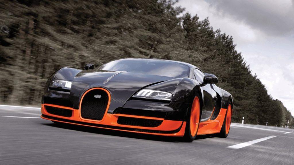 Bugatti Veyron SS. Фото Bugatti