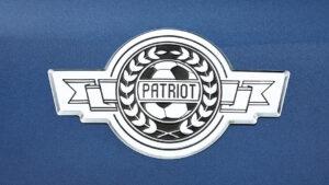 Шильдик «футбольного» УАЗ «Патриот». Фото УАЗ