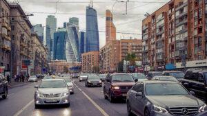 Московский трафик. Фото Bezik