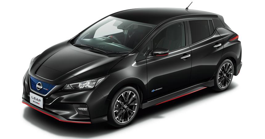 Nissan Leaf получил версию NISMO