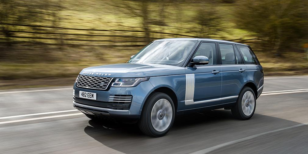 Ленд Ровер показала улучшенный Range Rover для РФ