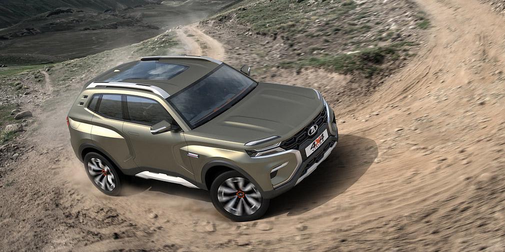 «АвтоВАЗ» представил концептуальный автомобиль «Нивы» обновленного поколения