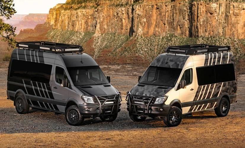 Lexani Motorcars сделала из Мерседес-Бенс Sprinter «дом наколесах»