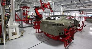 Производство Tesla. Фото Steve Jurvetson