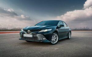 Toyota Camry в июне стала бестселлером марки в России