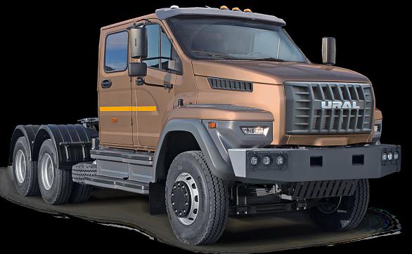 Иэто не«КамАЗ»: в РФ начали выпускать новые фургоны Урал 6х4