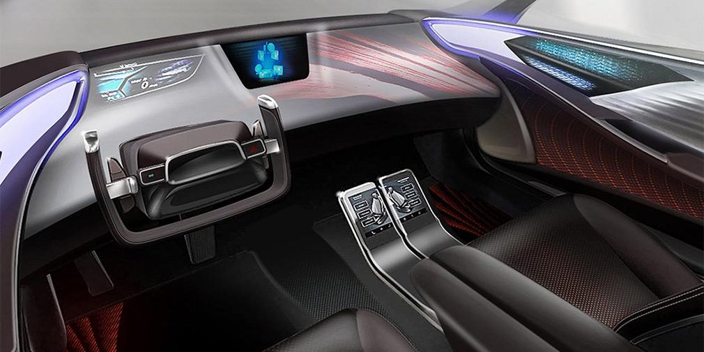 Toyota показала интерьер будущих автономных машин