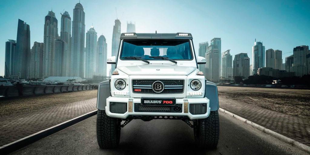 Brabus построил Mercedes-AMG G63 с600-миллиметровым клиренсом
