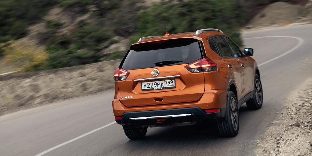 В РФ начались продажи обновленного кроссовера Nissan X-Trail