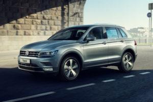 Volkswagen Tiguan получил новые двигатели