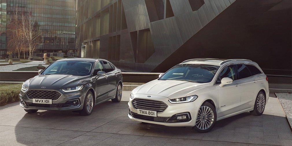 Форд заменит Mondeo, S-Max иGalaxy одной моделью— кроссовером