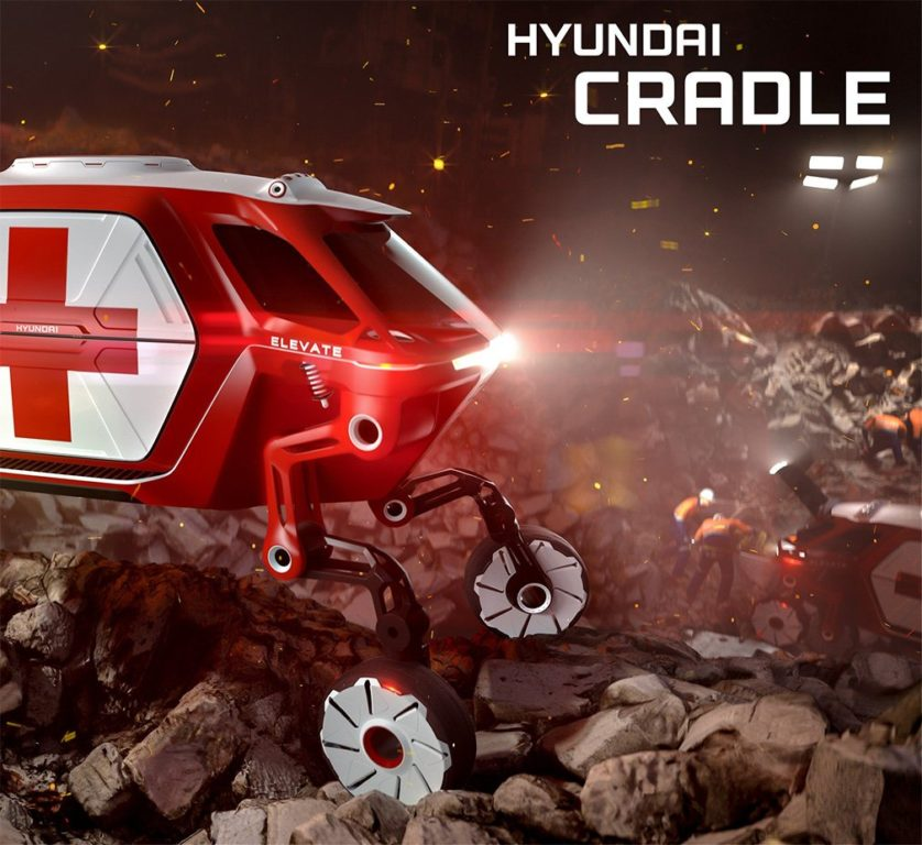Hyundai покажет наCES-2019 транспорт с«ногами»