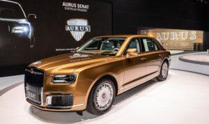 Aurus Senat. Фото Aurus Motors