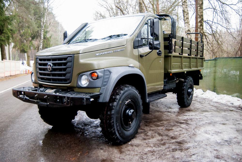 «ГАЗ» получил ОТС наполноприводный грузовой автомобиль «Садко Next»