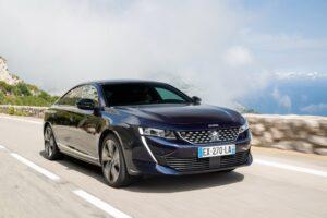 В России Peugeot запатентовал новый лифтбек Peugeot 508