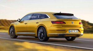 Volkswagen выпустит Tiguan Coupe и Arteon Shooting Brake в 2020 году