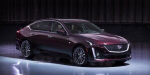 Cadillac раскрыл характеристики нового седана Cadillac CT5