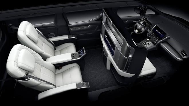 Lexus представил первый минивэн в своей истории