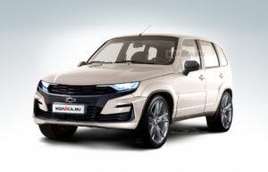 Chevrolet Niva получит четырехместную версию