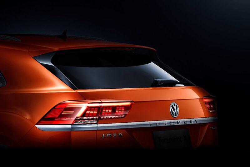 Volkswagen Teramont Coupe. Фото Volkswagen