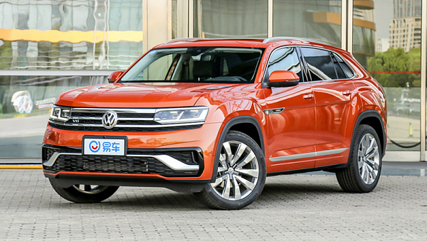 Кросс-купе VW Teramont Xвконце мая появится нарынке