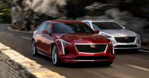 Названы российские цены на обновленный седан Cadillac CT5