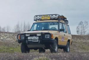 В России найден Land Rover Discovery с пробегом 1 млн километров